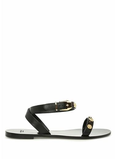Versace Sandalet Siyah